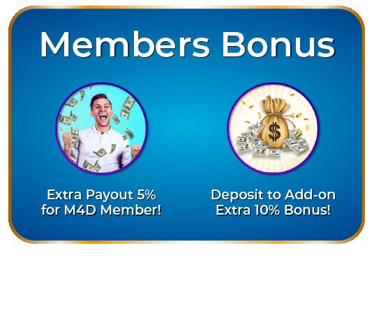 member bonus m4d